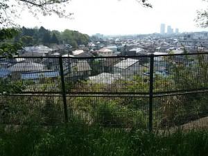 真間山弘法寺から東側を望む