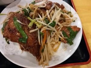 品珍園(ぴんじんえん)レバニラ炒め定食
