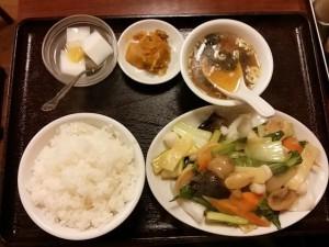 旺華楼の定食