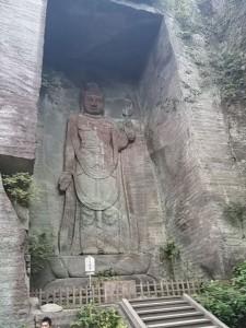 日本寺の百尺観音