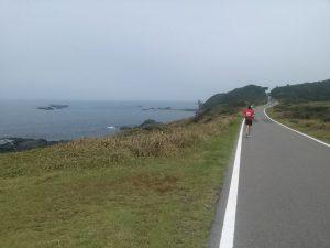 壱岐ウルトラマラソンのコースから