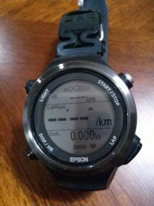 Epson GPS付脈拍計 SF-810