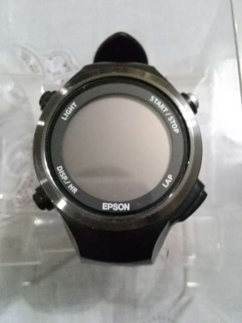 f03e9e523a EPSONのGPS付き心拍計SF-810の表示をウルトラマラソン用にカスタマイズした