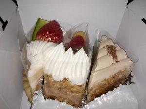 フランボアのケーキ