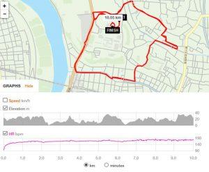第67回市川市民元旦マラソンのコース