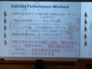 Stability Performance Workout