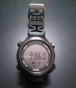 EPSON WristableGPS GPS付心拍計 SF-810B