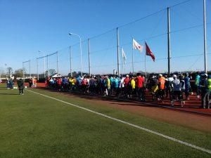 市川市民元旦マラソン10kmの部スタート