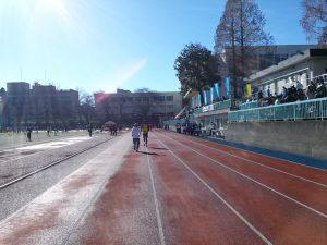市川市民元旦マラソンのゴール