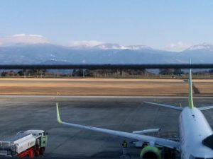 雪の霧島連山