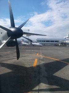 プロペラ機で屋久島へ