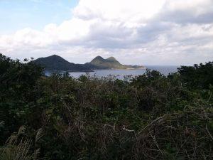 屋久島のすばらしい眺め