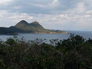 屋久島の灯台も見えた