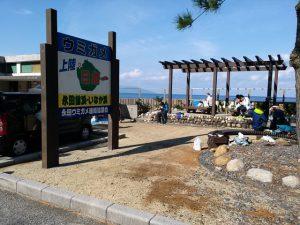 いなか浜は、ウミガメの上陸が日本一