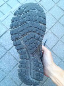GTS15の靴底