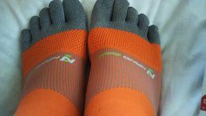 ナノグリップ 5本指靴下